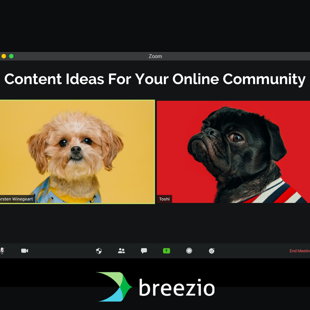Content Ideas For Your Online Community